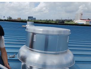 RTC全铝制风机施工