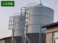 猪场鸡场5-30吨料塔料线